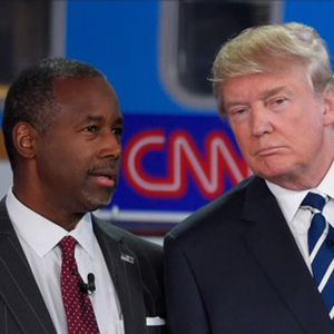 Ben Carson Takes Over Donald Trump